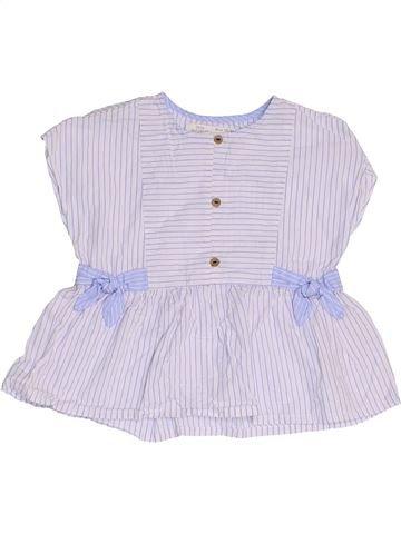 Blusa de manga corta niña ZARA gris 2 años verano #1453966_1