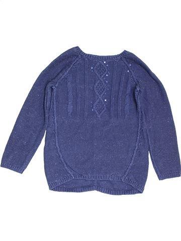 jersey niña VERTBAUDET azul 10 años invierno #1454009_1