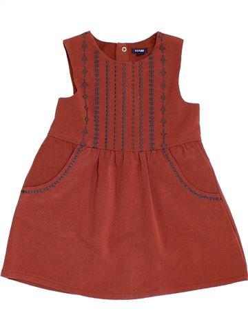 Vestido niña KIABI marrón 2 años invierno #1454074_1