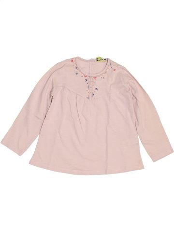 Camiseta de manga larga niña TAPE À L'OEIL violeta 3 años invierno #1454116_1