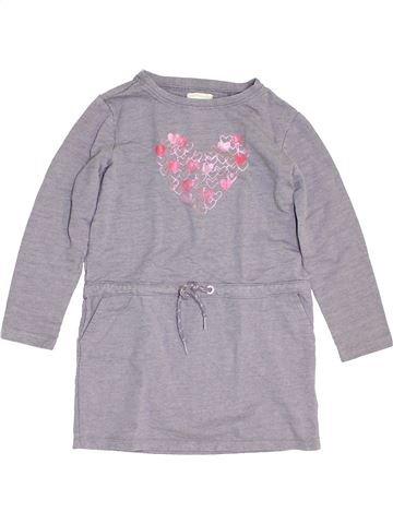 Vestido niña VERTBAUDET gris 8 años invierno #1454146_1