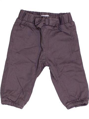 Pantalón niña BRIOCHE gris 1 mes invierno #1454277_1
