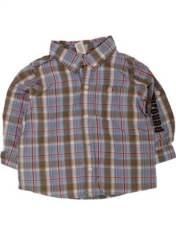 Chemise manches longues garçon C&A gris 2 ans hiver #1454289_1