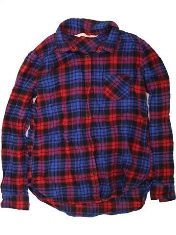 Chemise manches longues garçon H&M bleu 10 ans hiver #1454446_1