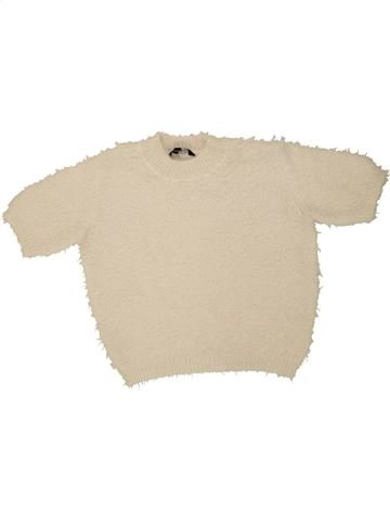 Pull fille CANDY COUTURE beige 11 ans hiver #1454534_1