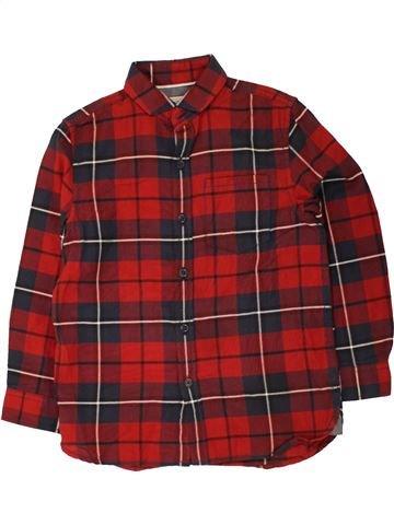 Chemise manches longues garçon NEXT rouge 6 ans hiver #1454785_1