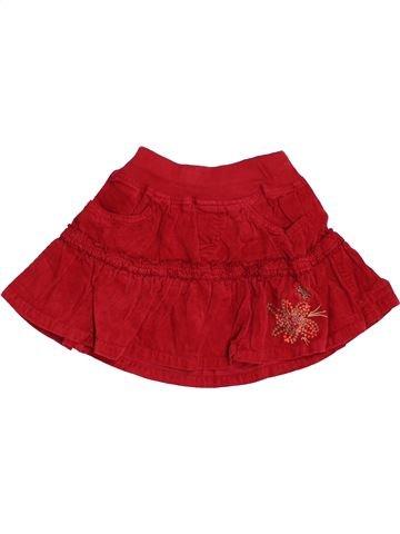 Falda niña ZARA rojo 5 años invierno #1454788_1