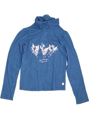 Camiseta de cuello alto niña SERGENT MAJOR azul 10 años invierno #1454819_1