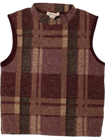 Camiseta sin mangas niña RIVER ISLAND violeta 8 años invierno #1455420_1