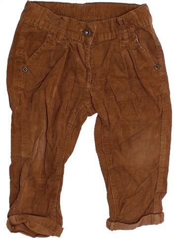 Pantalon garçon BAKKABOE marron 18 mois hiver #1455696_1