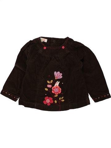 Blusa de manga larga niña LA COMPAGNIE DES PETITS negro 12 meses invierno #1455904_1