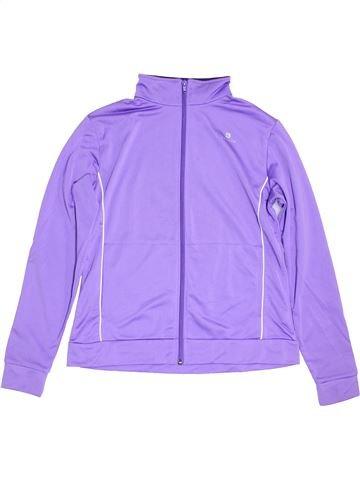 Ropa deportiva niña DOMYOS violeta 14 años invierno #1456238_1