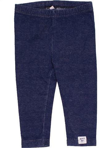 Legging fille DEBENHAMS bleu 9 mois hiver #1456462_1