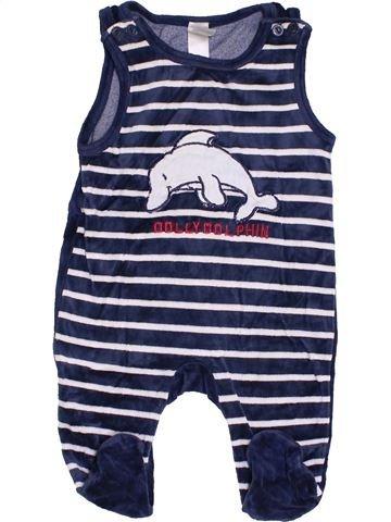 Pijama de 1 pieza niño C&A blanco 6 meses invierno #1456559_1