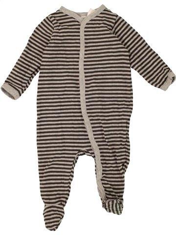 Pijama de 1 pieza niño H&M gris 6 meses invierno #1456583_1