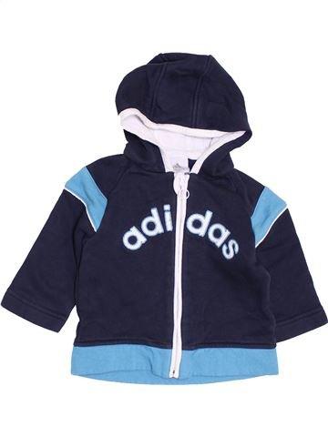 Sweat garçon ADIDAS bleu 6 mois hiver #1456696_1