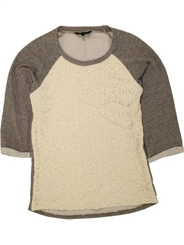 Sweat fille CANDY COUTURE beige 13 ans hiver #1457078_1