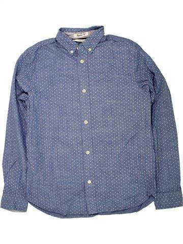 Camisa de manga larga niño H&M gris 12 años invierno #1457113_1