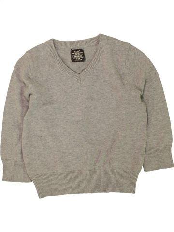 jersey niño H&M gris 3 años invierno #1457308_1