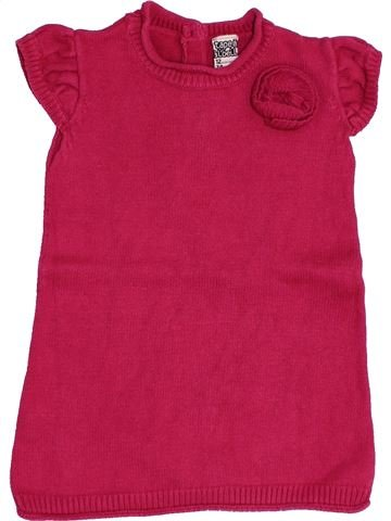 Vestido niña TAPE À L'OEIL rosa 12 meses invierno #1457328_1