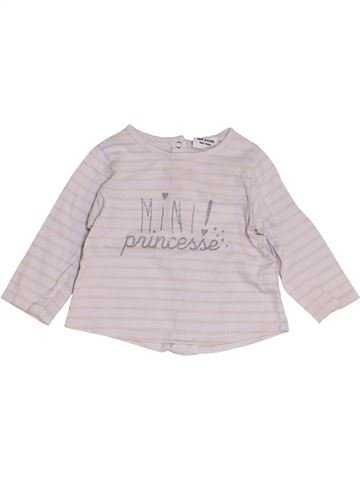 Camiseta de manga larga niña TAPE À L'OEIL blanco 9 meses invierno #1457370_1