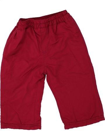Pantalon fille ERGEE violet 12 mois hiver #1457738_1