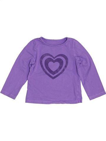 T-shirt manches longues fille MOTHERCARE violet 2 ans hiver #1457847_1