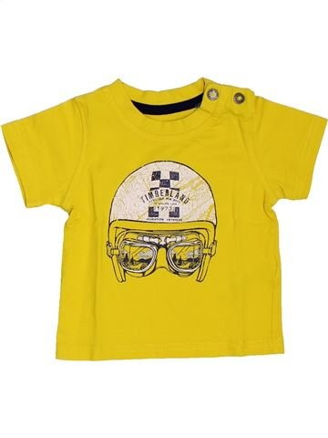 T-shirt manches courtes garçon TIMBERLAND jaune 6 mois été #1458030_1