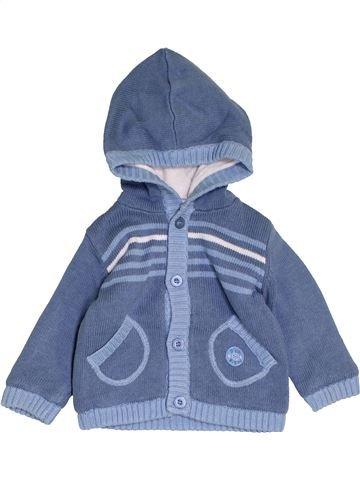 Chaleco niño P'TIT BISOU azul 6 meses invierno #1458050_1