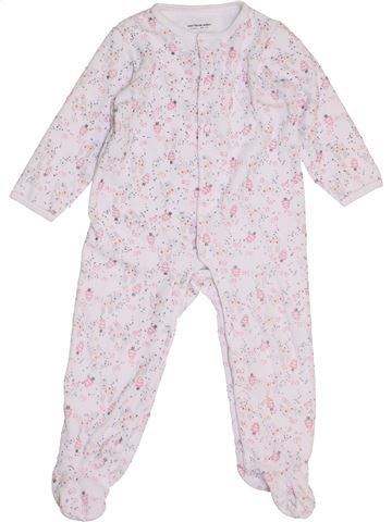 Pijama de 1 pieza niña VERTBAUDET blanco 2 años invierno #1458086_1