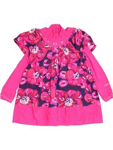 Robe fille CATIMINI rose 5 ans hiver #1458136_1