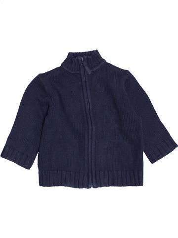 Chaleco niño BOUT'CHOU azul 9 meses invierno #1458165_1