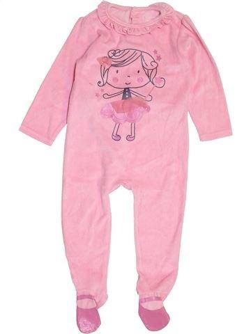 Pijama de 1 pieza niña KIMBALOO rosa 2 años invierno #1458172_1