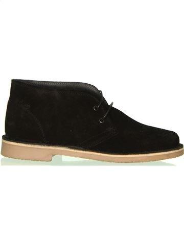 Zapatos con cordones niño BENETTON negro 36 invierno #1458189_1