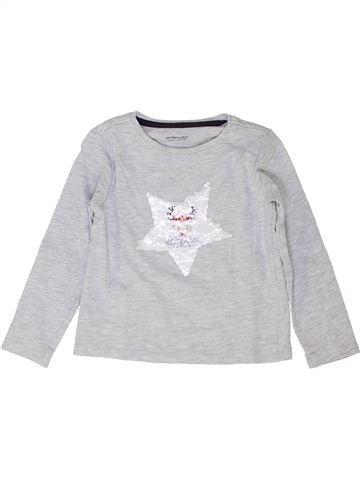 Camiseta de manga larga niño VERTBAUDET blanco 4 años invierno #1458193_1