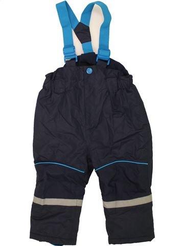 Ski garçon TOPOMINI noir 2 ans hiver #1458471_1