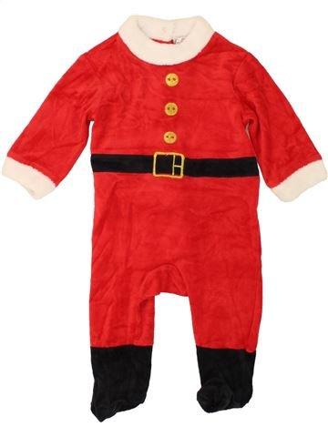 Pijama de 1 pieza niño KIABI rojo 9 meses invierno #1458541_1