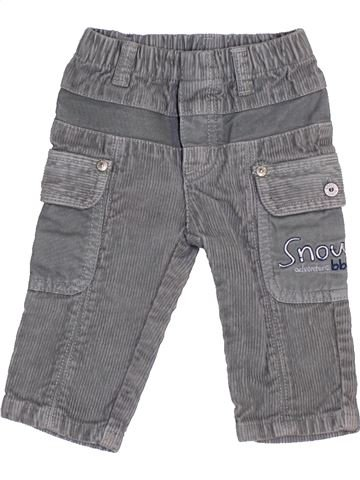 Pantalon garçon BOBOLI gris 3 mois hiver #1458604_1