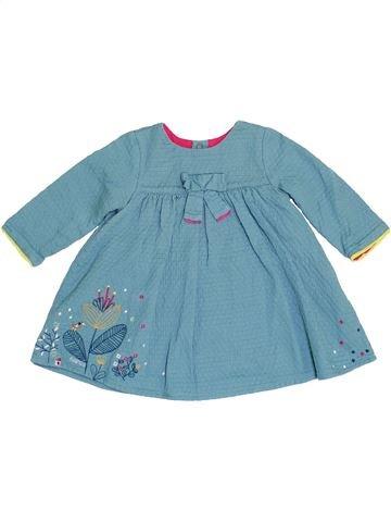 Vestido niña CATIMINI azul 9 meses invierno #1458698_1