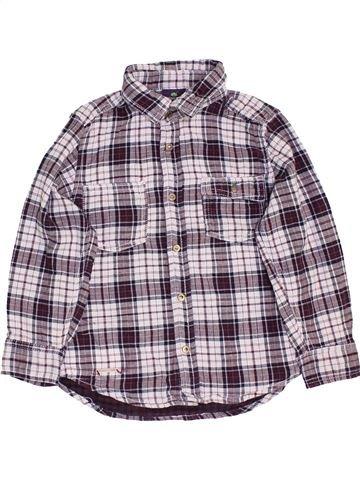 Chemise manches longues garçon SERGENT MAJOR gris 5 ans hiver #1458828_1
