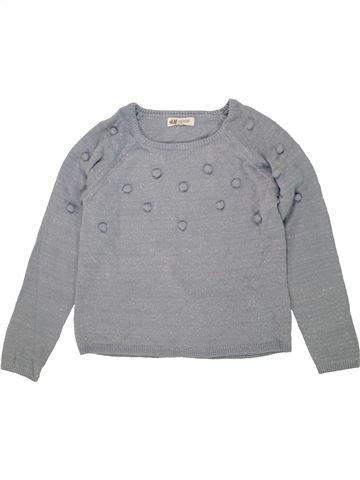 jersey niña H&M gris 10 años invierno #1458852_1