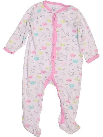Pijama de 1 pieza niña C&A blanco 3 años invierno #1458893_1