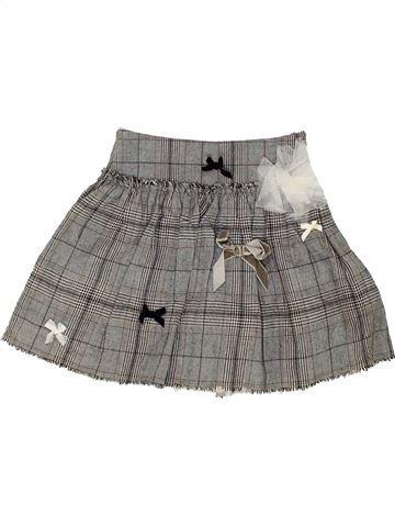 Falda niña LILI GAUFRETTE gris 6 años invierno #1458933_1