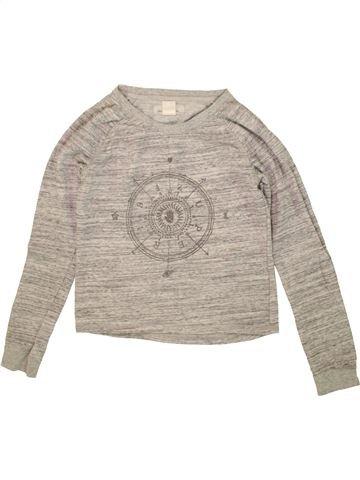 Sudadera niña H&M gris 12 años invierno #1458942_1