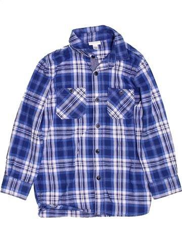 Camisa de manga larga niño VERTBAUDET azul 6 años invierno #1458949_1