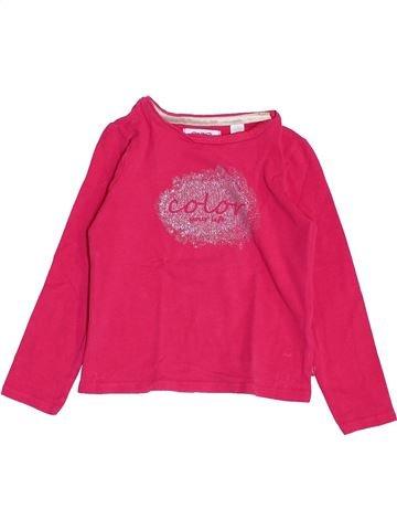 Camiseta de manga larga niña OKAIDI rosa 3 años invierno #1459153_1