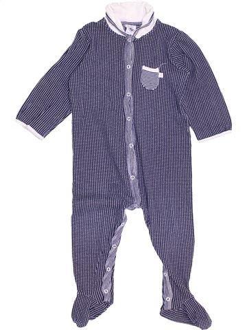 Pyjama 1 pièce fille PETIT BATEAU violet 18 mois été #1459162_1