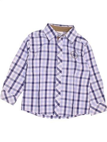 Camisa de manga larga niño VERTBAUDET gris 5 años invierno #1459184_1