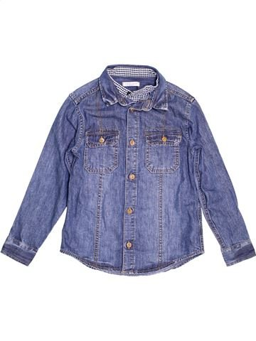 Camisa de manga larga niño MARKS & SPENCER violeta 9 años invierno #1459251_1