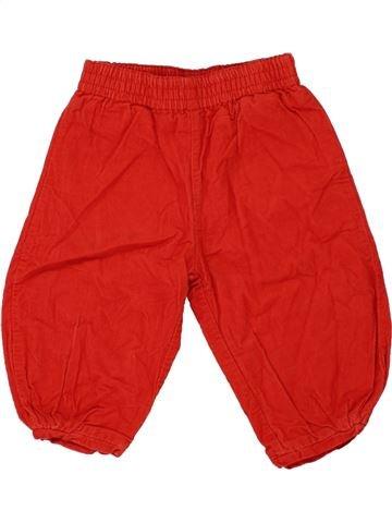 Pantalón niña CATIMINI rojo 9 meses invierno #1459266_1